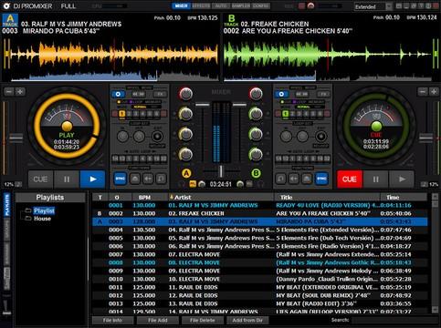 DJ ProMixer Screenshot