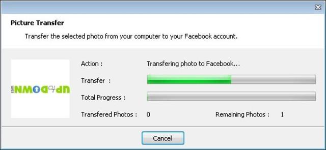 Easy Photo Uploader for Facebook App for Windows Preview
