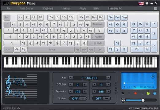 Everyone Piano App for Windows Preview