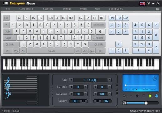 Everyone Piano Screenshot