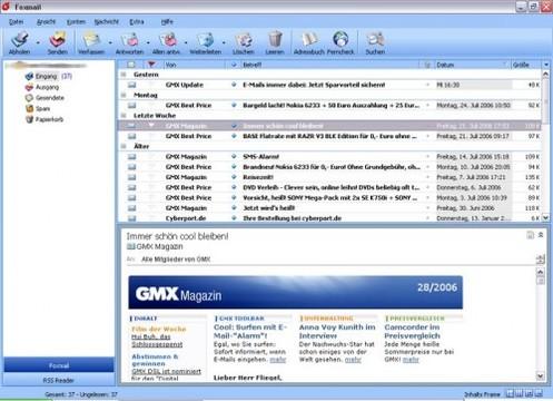 Foxmail Screenshot