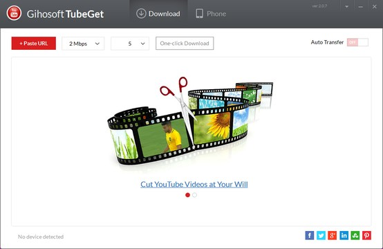√ Gihosoft TubeGet Free YouTube Downloader App for Windows