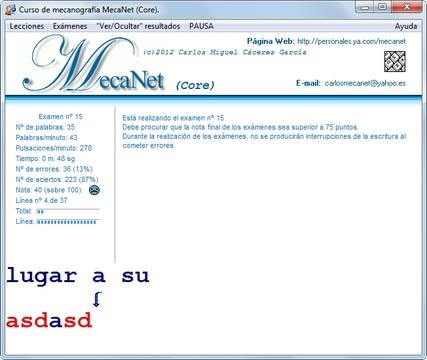 MecaNet Core Screenshot