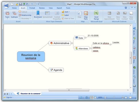 MindManager Screenshot