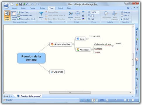 MindManager App for Windows Preview