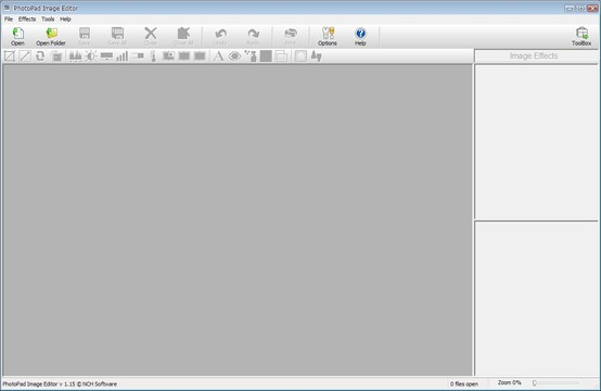 PhotoPad Image Editor App for Windows Preview