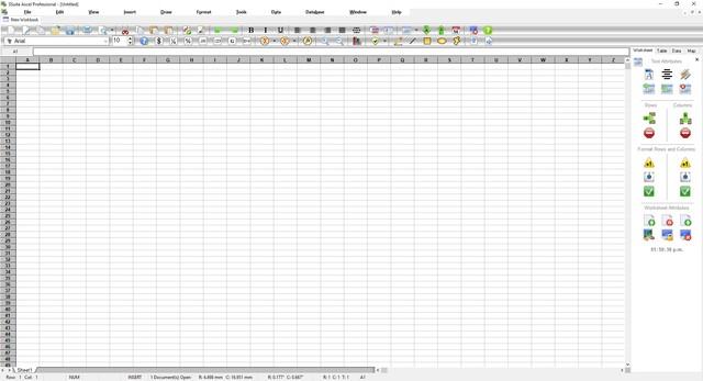SSuite Axcel Professional Screenshot