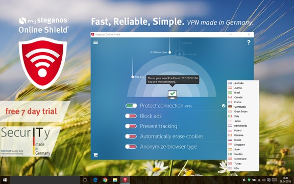 √ mySteganos Online Shield VPN App for Windows 10 Latest