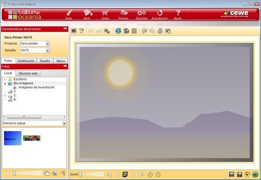 TuAlbum Oceanía App for Windows Preview