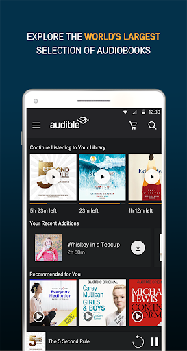 Audiobooks from Audible 2.36.0 preview 1