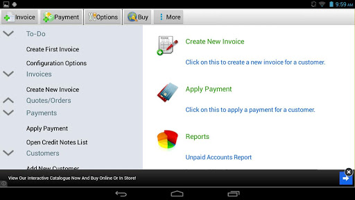 Express Invoice Invoicing Free 5.04 preview 1