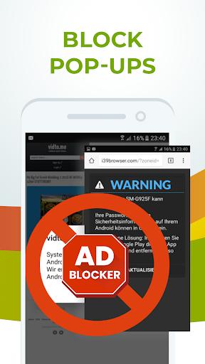 Free Adblocker Browser – Adblock amp Popup Blocker 64.0.2016123125 preview 2