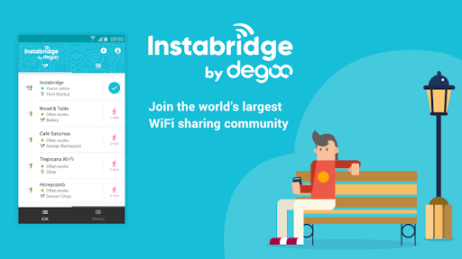 Free WiFi Passwords and Hotspot map by Instabridge 14.7.4arm64-v8a preview 1