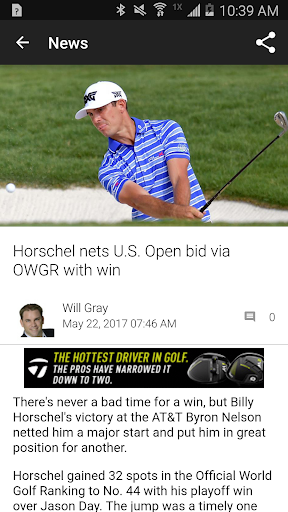 Golf Channel 5.0.3 preview 2