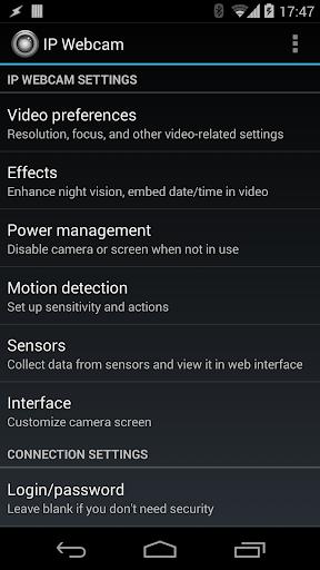 IP Webcam 1.14.22.690 arm preview 1