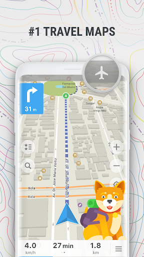 MAPS.ME Offline Map and Travel Navigation 9.1.5-Google preview 1