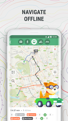 MAPS.ME Offline Map and Travel Navigation 9.1.5-Google preview 2