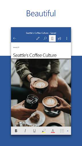 Microsoft Word Write Edit amp Share Docs on the Go 16.0.11601.20074 preview 1