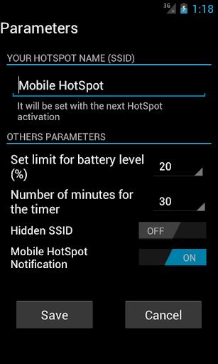 Mobile HotSpot 1.9.8 preview 2