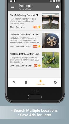 Postings Craigslist Search App 4.1.3 preview 2