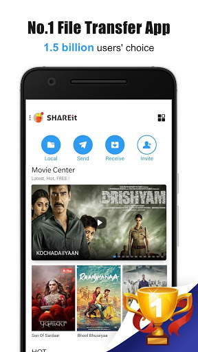 SHAREit – Transfer amp Share 4.8.12_ww preview 1