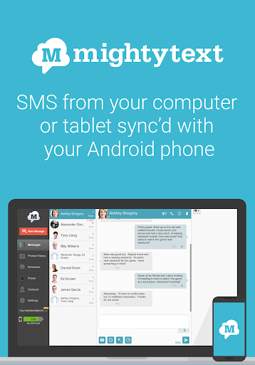 SMS from PC Tablet amp Sync Text from Computer 15.09 preview 1