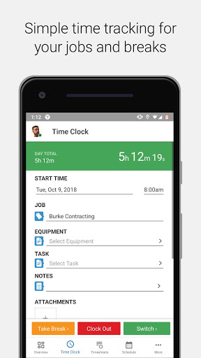 TSheets Time Tracker 2.65.1.20190510.2.RELEASE preview 2