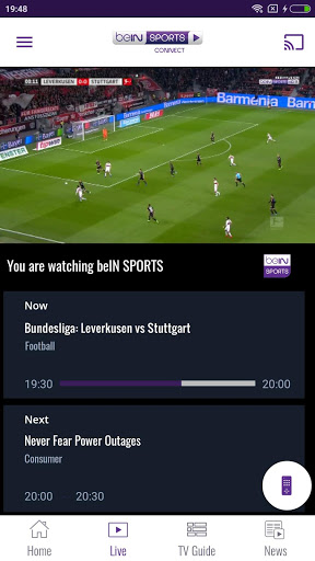 beIN SPORTS CONNECT 5.6 preview 2