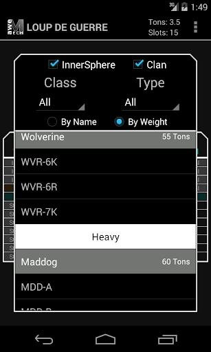 aweMech for MechWarrior Online 1.1.61 preview 1